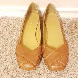 💚 IPANEMA Leather Ballet Flats - 7M NWOT 💚